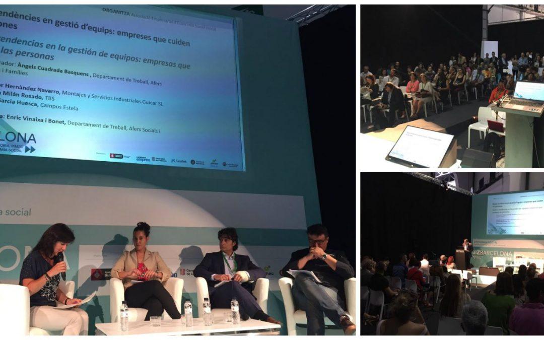 Experiències d'RSE de Campos Estela, al BizBarcelona