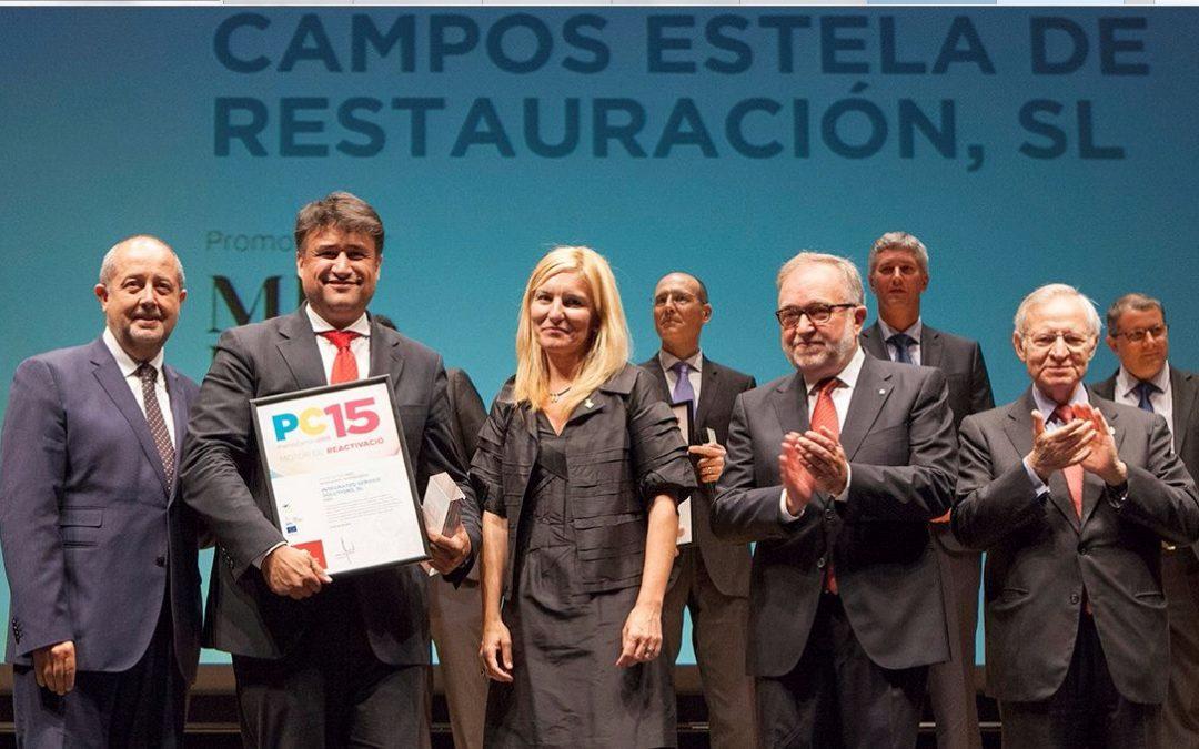 Premi Cambra 2015 en Compromís i Sostenibilitat