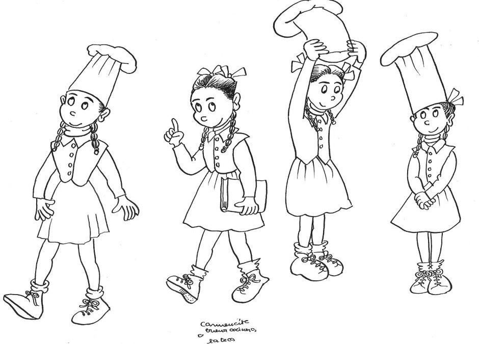 Farinetes, una ilustración de Pilarín Bayés para el 50 aniversario