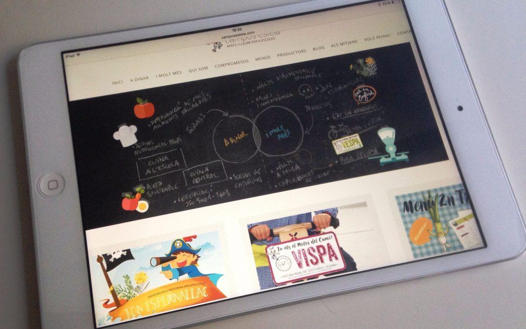 Nova web per millorar comunicació amb escoles i famílies