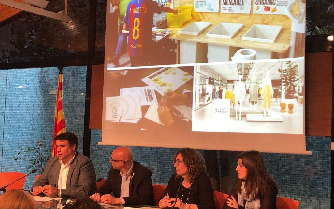 Pesa i Pensa, bona pràctica a la presentació de Catalunya Circular