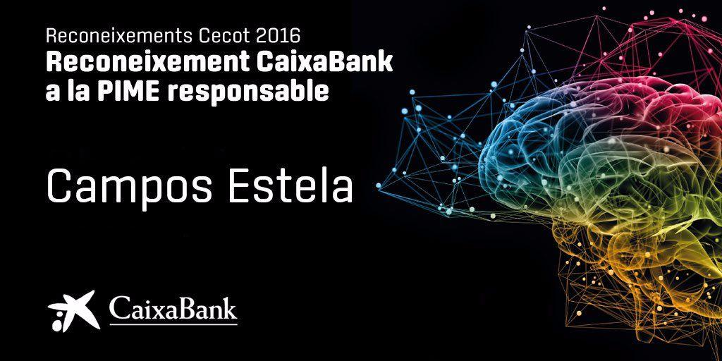 Campos Estela, guardonada per la seva Responsabilitat Social