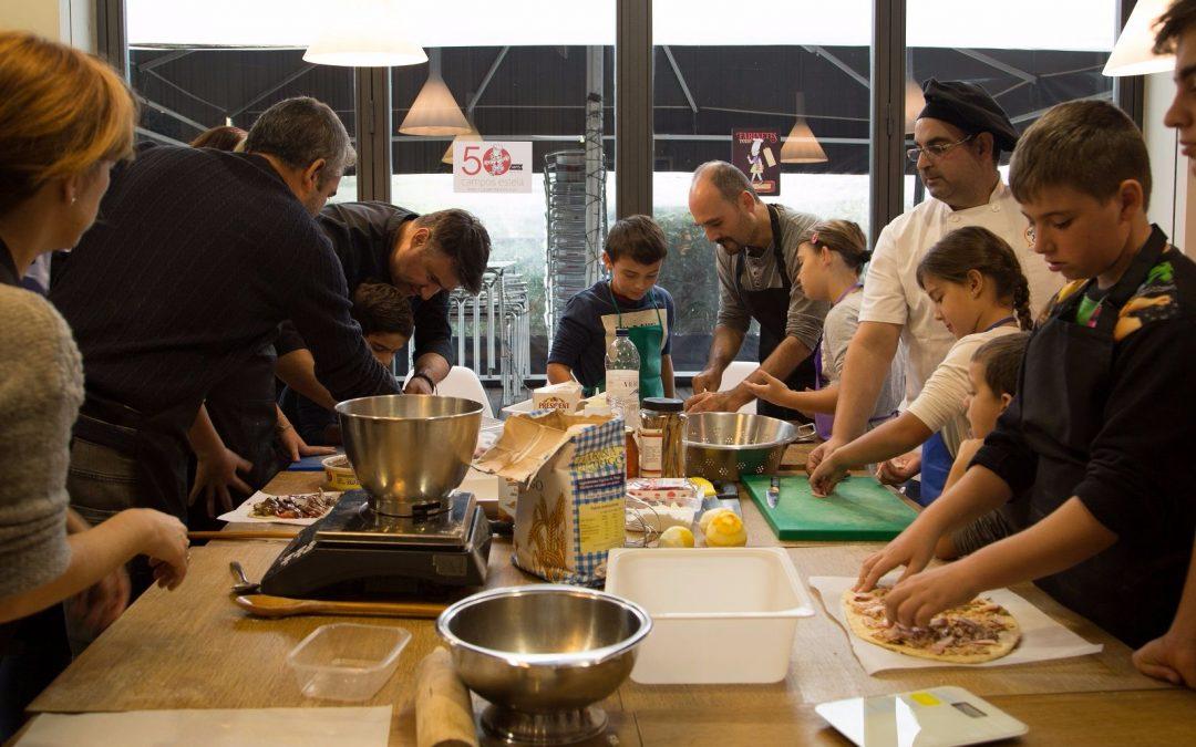 Cuinem amb els petits xefs guanyadors del concurs de receptes #VospaTour