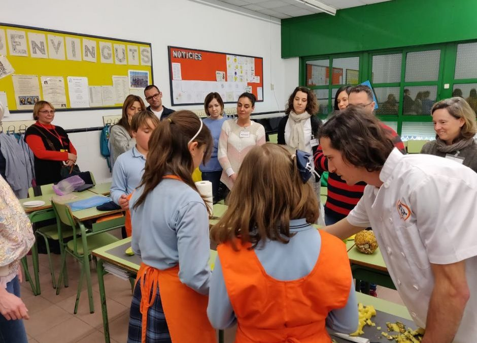 Eat in English, a la 13a Jornada d'Escola Multilingüe