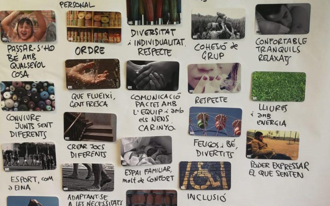 Visual Thinking per compartir el projecte educatiu Bo, Sa i Sostenible