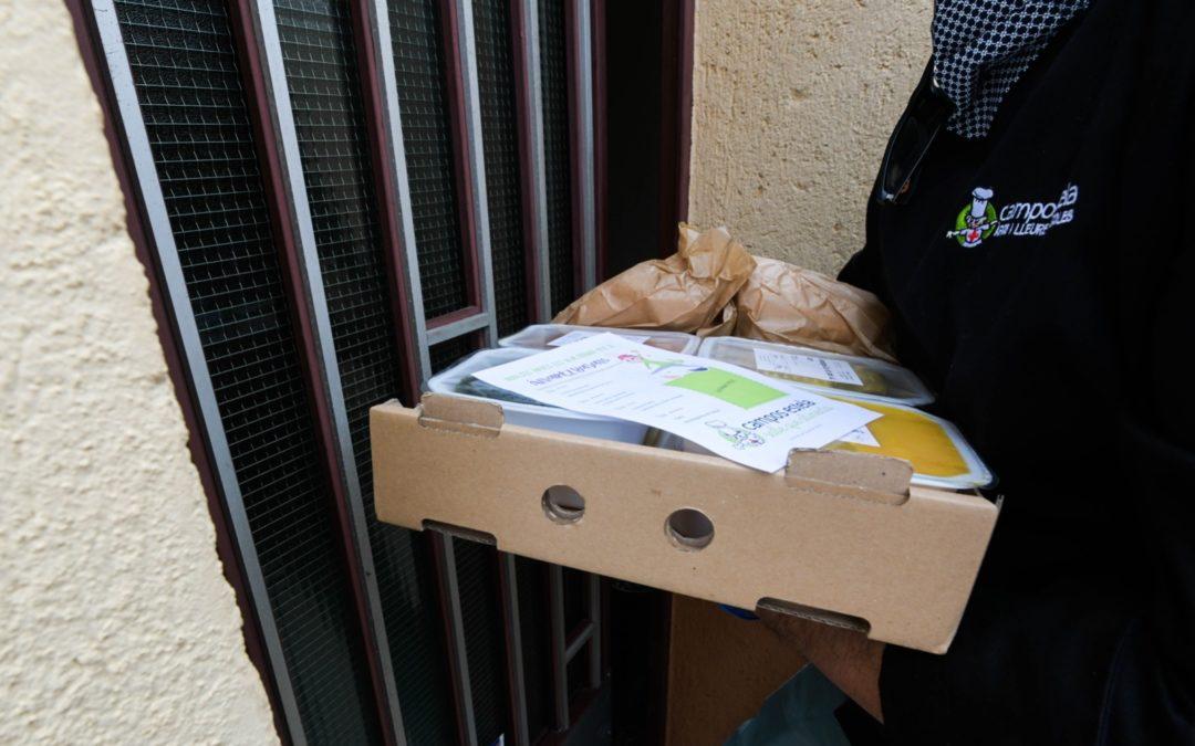 L'ajuntament de Rubí compta amb Campos Estela per distribuir àpats a domicili entre persones vulnerables del municipi