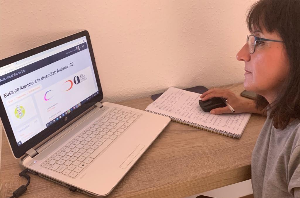 Excel·lent acollida del pla de formació en línia
