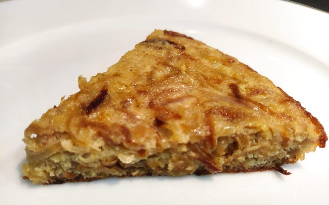 """Tortilla de cebolla, una receta """"de comarcas"""""""